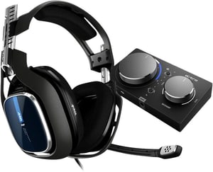 Gaming A40 TR Headset nero/blu + MixAmp Pro