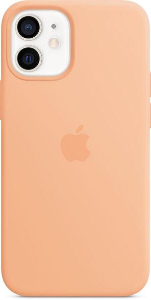 iPhone 12 mini Silicone Case MagSafe Cantaloupe