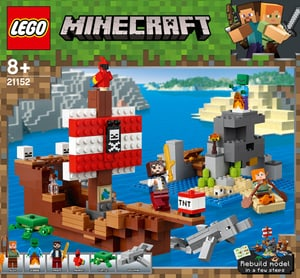 Minecraft 21152 Das Piratenschiff