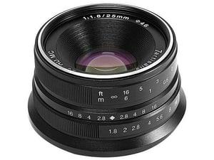 25mm F1.8 Sony E Nero