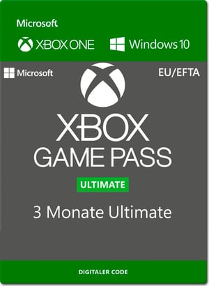 Xbox One - Game Pass Ultimate 3 mois