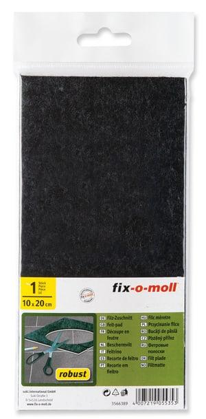 Filz-Zuschnitt robust 6.5 mm / 100 x 200 mm 1 x