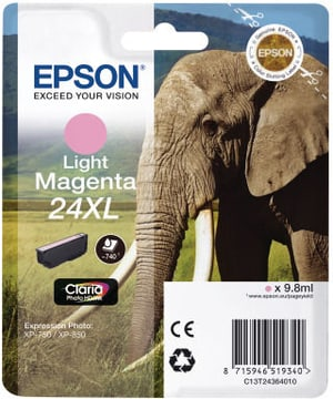 24XL Tintenpatrone light magenta