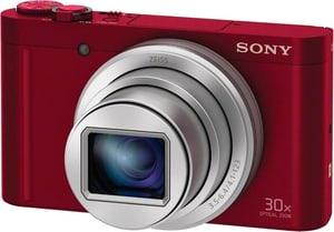 DSC-WX500R rouge, 18,2 MP 30x opt. zo