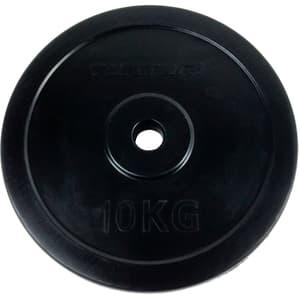 Gummierte 10 kg Gewichtsscheibe 30 mm
