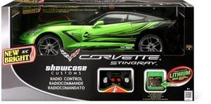 RC Corvette C7, vert