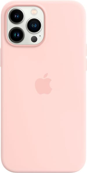 iPhone 13 Pro Max Silicone Case with MagSafe – Chalk Pink