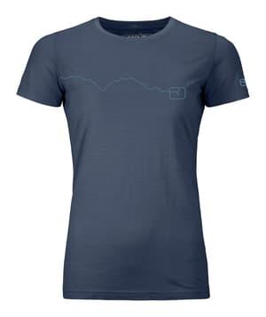 120 Tec Mountain T-Shirt W