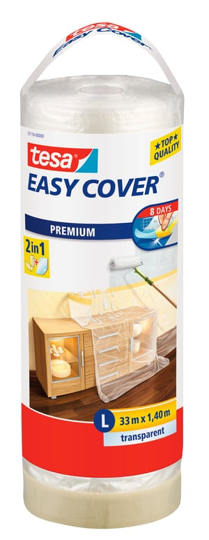 Easy Cover® PREMIUM Film - L, rouleau de recharge 33m:1400mm