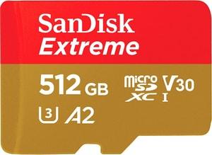 Extreme 160MB/s microSDXC 512Go