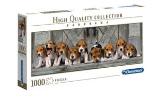 Puzzle Panorama Hunde 1000Tlg