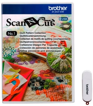 Design ScanNCut Nr. 1 Quiltmuster