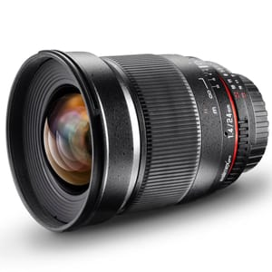 Walimex Pro - 24mm f/1,4 IF Objectif AE pour Nikon