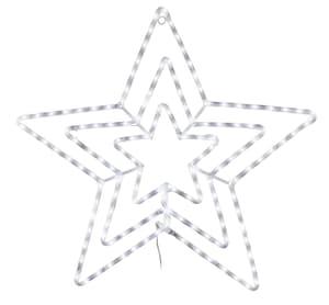 LED Lichtschlauch-Leuchtstern 3-fach