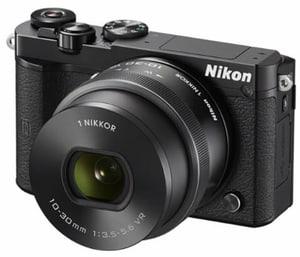 Nikon 1 J5 Kit Systemkamera schwarz