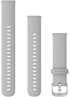 18mm Bracelet à changement rapide gris clair avec boucle silver