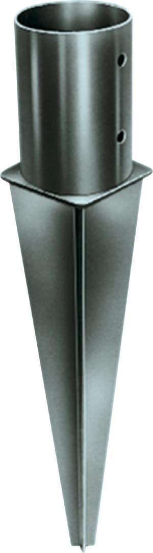 Einschlagbodenhülse für 10 cm