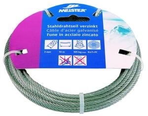 Câble d'acier galvanisé