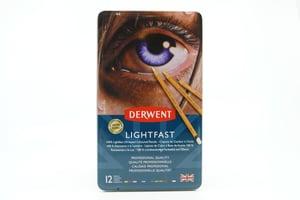 12 matite Derwent Lightfast