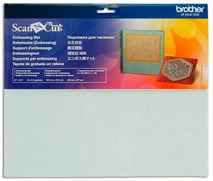 "Plaque de coupe ScanNCut 12"" embossable"