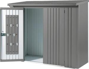 Set porta per scaffale per la legna Wood Stock 230
