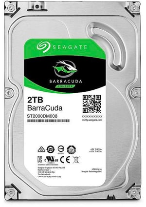 "BarraCuda SATA 3.5"" 2 TB"