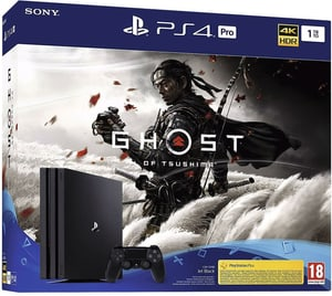 PlayStation 4 Pro 1 TB + Ghost of Tsushima