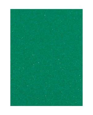 Caoutchouc mousse 30 x 40 cm, vert foncé