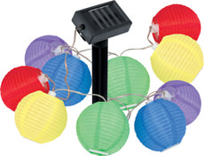 LED Solarlampe Lichterkette