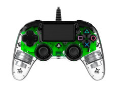 Gaming PS4 Controller Light Edition green