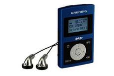Grundig Micro 75 DAB+ Pocket-Radio blau/