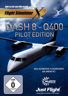 PC - Dash 8: Q400 Pilot Edition (Add-on für FSX)