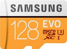 Scheda di memoria Evo microSDXC 128 GB