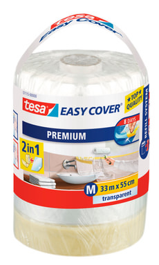 Easy Cover® PREMIUM Film - M, rouleau de recharge 33m:550mm