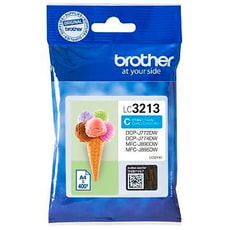 BROTHER  Cartouches jet d'encre LC-3213C cyan