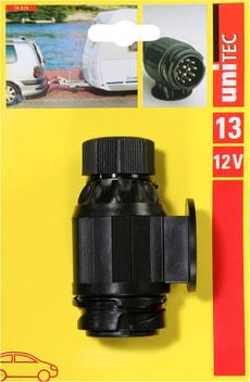 Stecker 13-polig, 20A, 12V