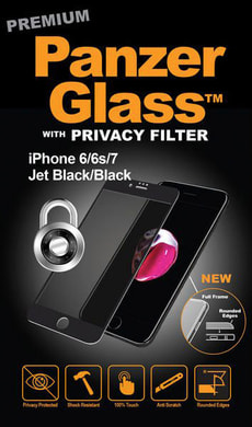 Privacy iPhone 6/6s/7/8 - noir