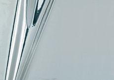 Dekofolien selbstklebend Metallic Hochglanz Silber