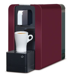 Compact Automatic Kapselmaschine burgundy red