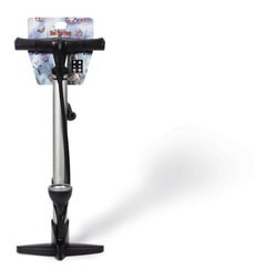GIYO GF-33P STEEL FLOOR PUMP
