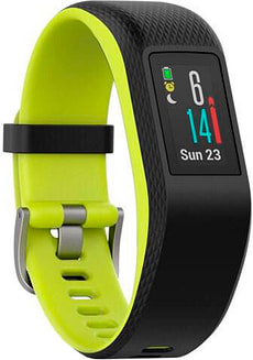 Vivosport Fitness-Tracker - schwarz/grün