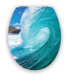 WC-Sitz Brillant Big Wave Slow Motion