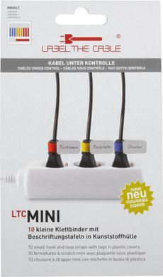 Mini Klettbinder mit Etikette