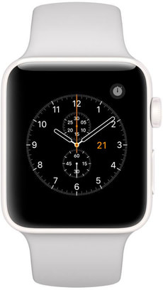 Watch Edition GPS/LTE 42mm white/pebble