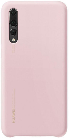 Silicone Case Pink für Huawei P20