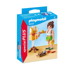 Playmobil Modedesignerin