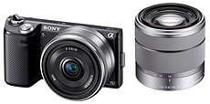 NEX 5NDB KIT Sistema di fotocamere digitali compatte
