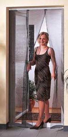 Moustiquaire rideau porte 95x220cm