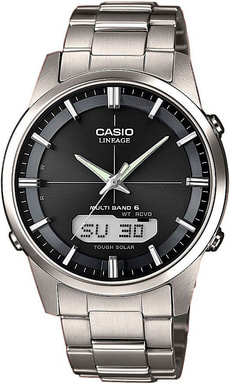 LCW-M170TD-1AER Armbanduhr, silber