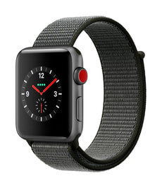 Watch Series 3 GPS/LTE 42mm spacegray/olive